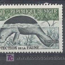 Sellos: NIGER, REPUBLIQUE, 1959-62, YVERT TELLIER 96A (NUEVO CON GOMA). Lote 21204966