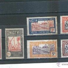 Sellos: SELLOS ANTIGUOS NIGER AFRICA OCCIDENTAL FRANCESA . Lote 39640928