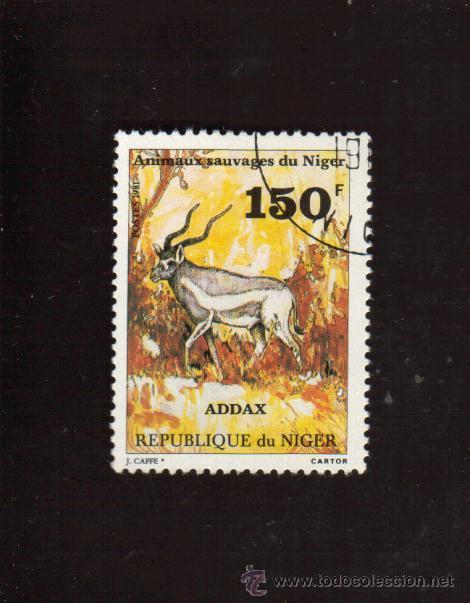 BONITO SELLO DE LA REPUBLICA DE NIGER EL DE LA FOTO QUE NO TE FALTE EN TU COLECCION (Sellos - Extranjero - África - Niger)