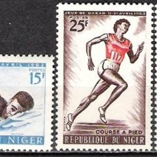 Sellos: NIGER 1963 - NUEVO. Lote 99135863