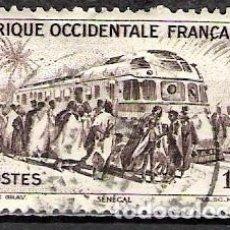 Sellos: NIGER, AFRICA OCCIDENTAL FRANCESA 1947 - USADO. Lote 100423331