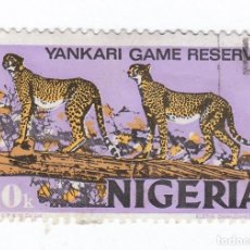 Sellos: BONITO SELLO. YANKARI GAME RESERVE, NIGERIA. 10K.. Lote 102612787
