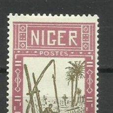 Sellos: FRANCIA- COLONIAS NIGER NUEVO 1926 (CON FIJASELLO). Lote 137456426