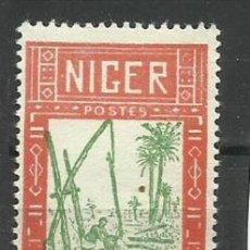 Sellos: FRANCIA- COLONIAS NIGER NUEVO 1926 (SIN GOMA). Lote 137456546