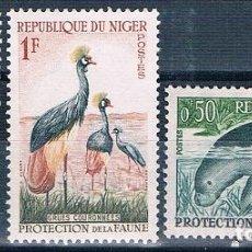 Sellos: NIGER 1959 / 62 - YVERT 96 A + 97 + 98 ** ( NUEVOS ). Lote 156166178
