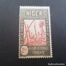 Sellos: NÍGER COLONIA FRANCESA 1926-1940 SACANDO AGUA DE POZO SCOTT E YVERT 30*, NUEVO,FIJASELLO,(LOTE AG). Lote 156872002