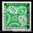 Sellos: NIGER SCOTT: J22-(1962) (TAXA-PORTE DEBIDO) (CRUZ DE AGADES) USADO. Lote 157282362