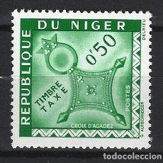 Sellos: NÍGER 1962 - SELLO DE TAXA, CRUZ DE AGADEZ - SELLO NUEVO **. Lote 171820389