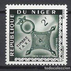 Sellos: NÍGER 1962 - SELLO DE TAXA, CRUZ DE AGADEZ - SELLO NUEVO **. Lote 171820445