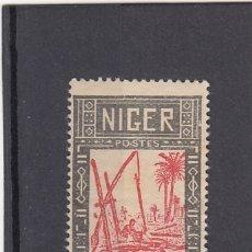 Sellos: NIGER ( COLONIA FRANCESA ). 1926-38. YVERT 30. NUEVO SIN GOMA.. Lote 175456192