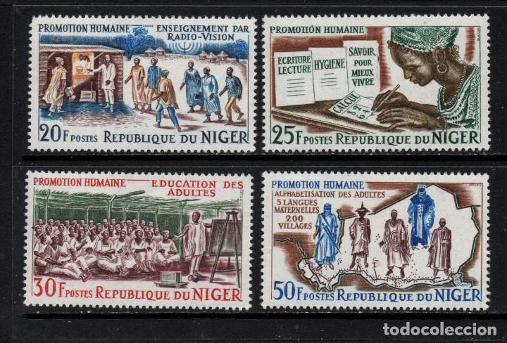 NIGER 158/61** - AÑO 1965 - PROMOCION HUMANA (Sellos - Extranjero - África - Niger)