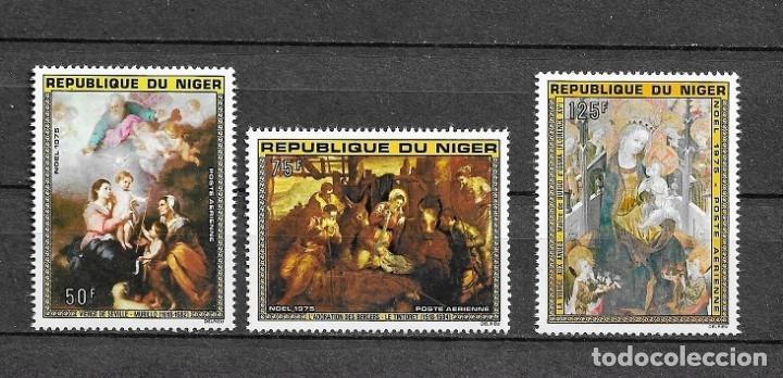 NAVIDAD,1975,NAVIDAD,YVERT 257-259,NUEVOS,MNH** (Sellos - Extranjero - África - Niger)