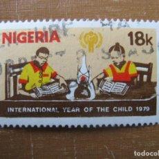 Sellos: NIGERIA 1979, AÑO INTERNACIONAL DE LA INFANCIA, YVERT 368. Lote 199060117