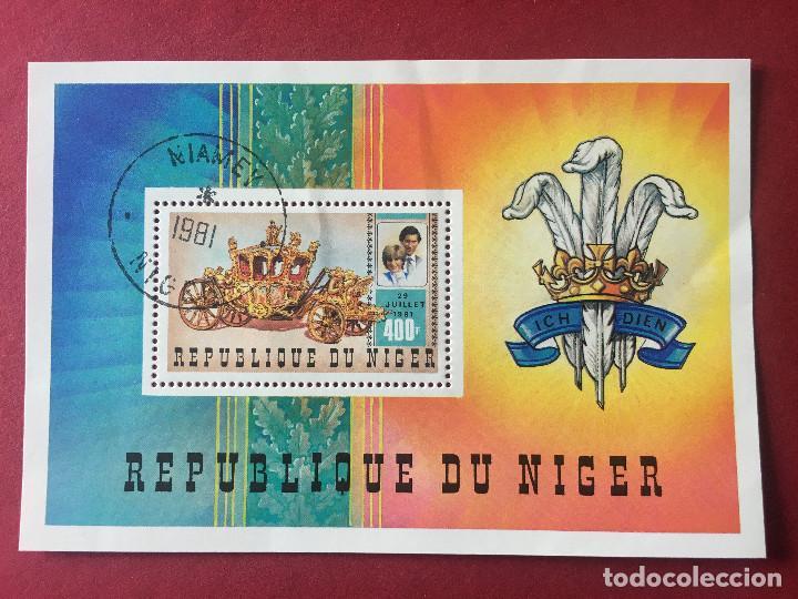 SELLOS CARLOS Y DIANA, 1981, REPUBLICA DE NIGER (Sellos - Extranjero - África - Niger)