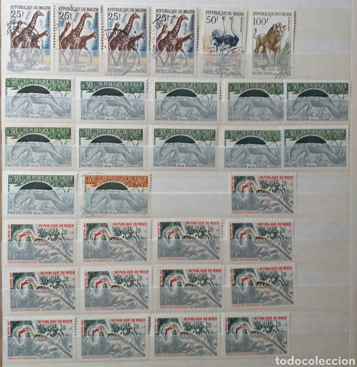 Sellos: Colección de sellos de Níger - Foto 3 - 203259401