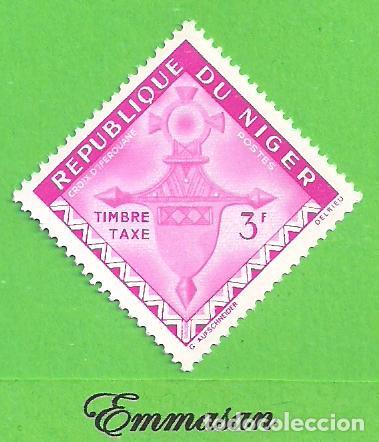 NÍGER - MICHEL P4 - YVERT T25 - CRUZ DE AGADES - TIMBRE. (1962).** NUEVO SIN FIJASELLOS. (Sellos - Extranjero - África - Niger)