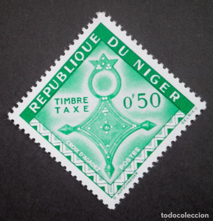 1962 NÍGER CRUZ DE AGADEZ, CRUZ DE IFEROUANE Y CRUZ DE TAHOUA (Sellos - Extranjero - África - Niger)