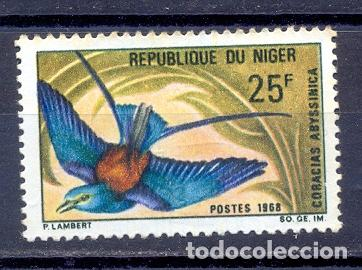 NIGER 1967/68- YVERT TELLIER 212 (Sellos - Extranjero - África - Niger)