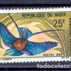 Sellos: NIGER 1967/68- YVERT TELLIER 212. Lote 223389048