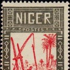 Sellos: NIGER 1926 SCOTT 30 SELLO º AGRICULTURA SACANDO AGUA DEL POZO MICHEL 30 YVERT 30 STAMPS TIMBRE. Lote 237891580