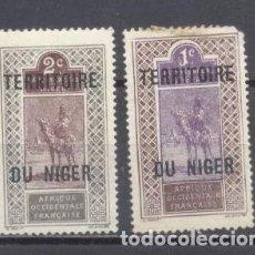 Sellos: NIGER 1921/26, NUEVOS, CHARNELA. Lote 238062040