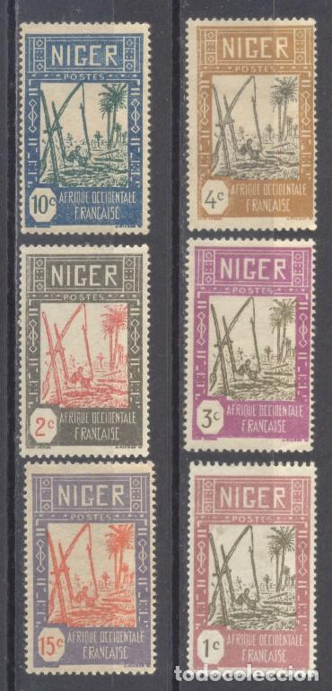 NIGER 1926/38, NUEVOS, CHARNELA (Sellos - Extranjero - África - Niger)