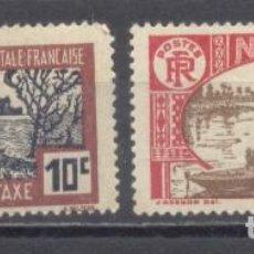 Sellos: NIGER 1926/38, NUEVOS, CHARNELA. Lote 238063705