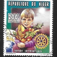 Timbres: NIGER. Lote 241419465