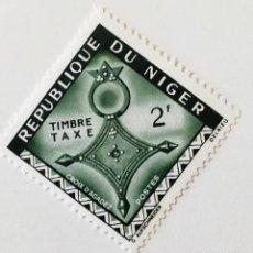 Sellos: SELLO DE NIGER 2 F - 1962 - CRUZ DE AGADES - NUEVO SIN SEÑAL DE FIJASELLOS. Lote 242980610