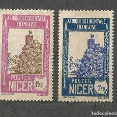 Sellos: NÍGER - 1939 - 3 SELLOS NUEVOS. Lote 254654715