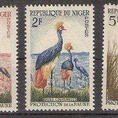 Sellos: NIGER 1959/60 - YVERT 97-98-99 **. Lote 276814363