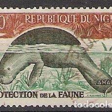 Sellos: NIGER 1962 - YVERT 100A USADO. Lote 276814538
