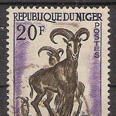 Sellos: NIGER 1960 - YVERT 102 USADO. Lote 276815608
