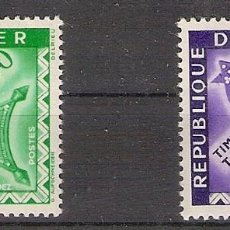 Timbres: NIGER 1960 - YVERT T22-T23 **. Lote 276816283