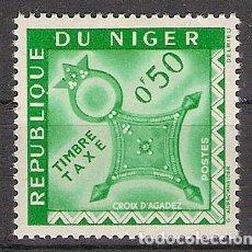 Sellos: NIGER 1960 - YVERT T22 **. Lote 276816923