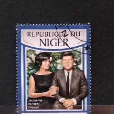 Selos: SELLO REPÚBLICA NIGER- JAQUELINE KENNEDY - KENNEDY - AF. Lote 281771108