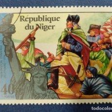 Selos: NIGER TRAVERSE LA DELAWARE- 1776. Lote 291220613
