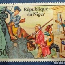Selos: NIGER TRAVERSE LA DELAWARE- 1776. Lote 291220903