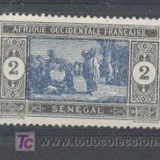 Sellos: SENEGAL (OAF), 1914-17, YVERT TELLIER 54. Lote 21204442