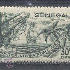 Sellos: SENEGAL (EXPOSICION INTERNACIONAL DE PARIS), 1937- YVERT TELLIER 139. Lote 21598801