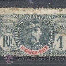 Sellos: ALTO SENEGAL Y NIGER 1906 - YVERT TELLIER 1. Lote 21629549