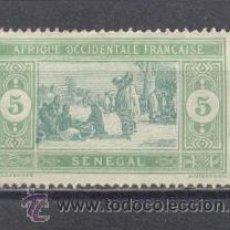 Sellos: SENEGAL(AOF)-1914-17-YVERT TELLIER 56. Lote 24516564