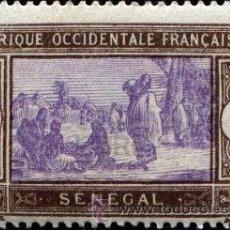 Sellos: ÁFRICA OCCIDENTAL FRANCESA, SENEGAL, AÑO 1914. Lote 41106504