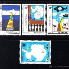 Sellos: SENEGAL 997/1000** - AÑO 1992 - AÑO MUNDIAL DEL PATRIMONIO MARÍTIMO. Lote 50928087