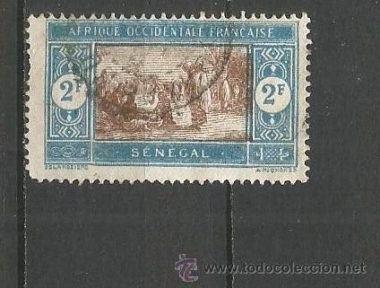 SENEGAL COLONIA FRANCESA YVERT NUM. 86 USADO (Sellos - Extranjero - África - Senegal)