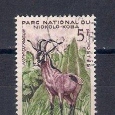 Sellos: FAUNA SALVAJE.SENEGAL.SELLO AÑO 1960. Lote 87495748