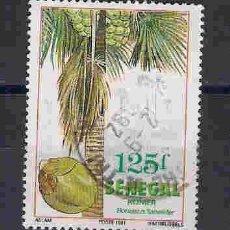 Sellos: ÁRBOLES DE SENEGAL. SELLO AÑO 1991. Lote 88661076