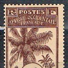 Sellos: ALTO SENEGAL Y NIGER 9, PALMERA, NUEVO CON SEÑAL DE CHARNELA (AÑO 1906). Lote 88792268