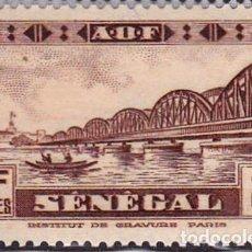 Sellos: 1935 - SENEGAL - PUENTE FAIDHERBE - YVERT 115. Lote 107230719