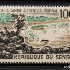 Sellos: SENEGAL AEREO 47** - AÑO 1965 - PAISAJES. Lote 129620771